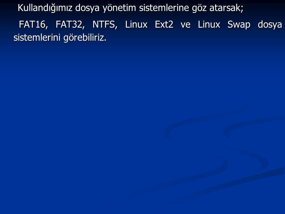FAT16: DOS, Windows 3.1 ve OSR2 sürümü öncesi Windows 95 işletim sistemlerinin kullandığı dosya sistemidir.