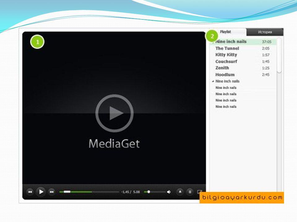 Media Veritabanı Bulmak istediğiniz dosya türünü seçin: müzik, film, yazılım, oyun ve medya dosyalarını her türlü olabilir.
