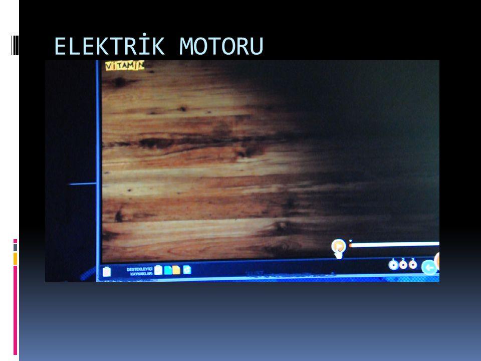 ELEKTRİK MOTORU
