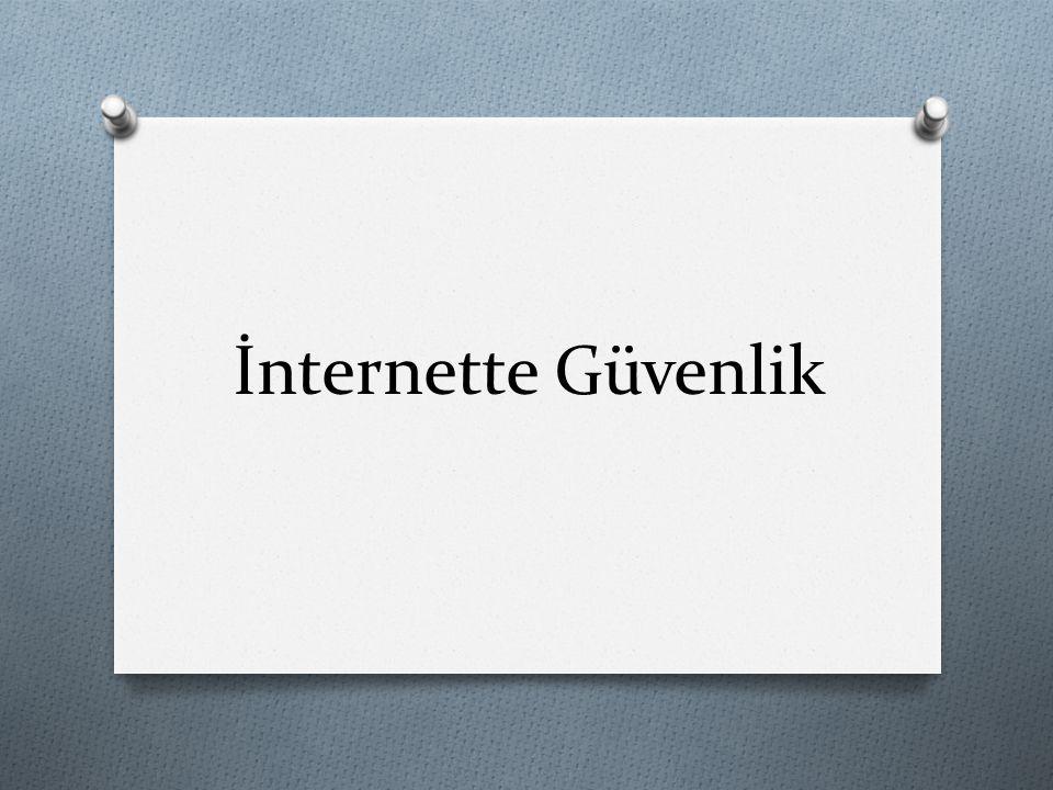 İnternette Güvenlik