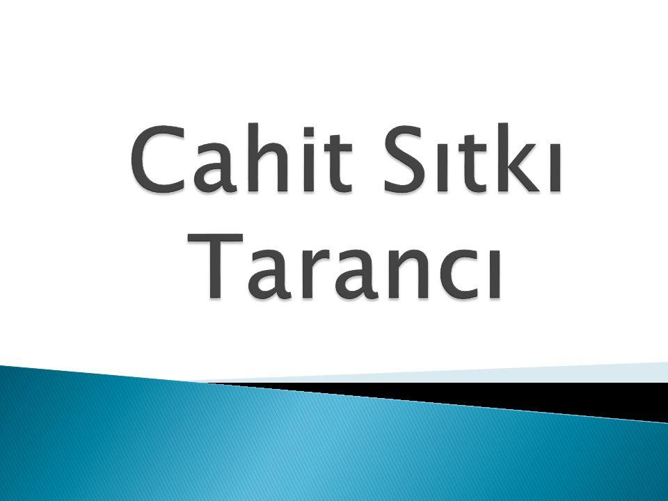  4 ekim 1910'da Diyarbakır'da doğdu. Asıl adı Hüseyin Cahittir.