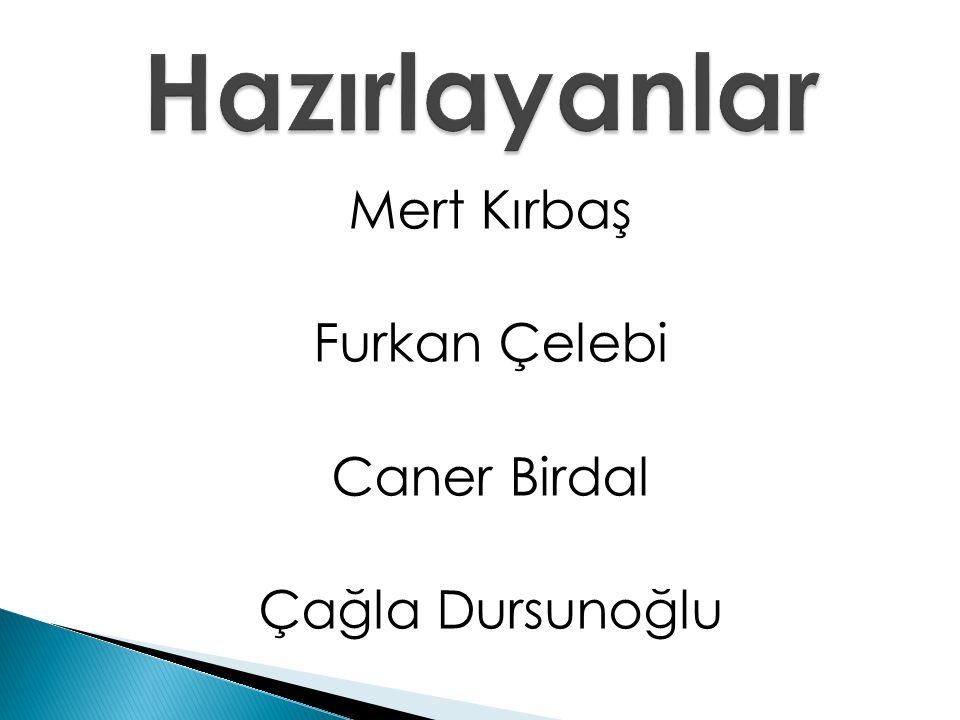 Mert Kırbaş Furkan Çelebi Caner Birdal Çağla Dursunoğlu