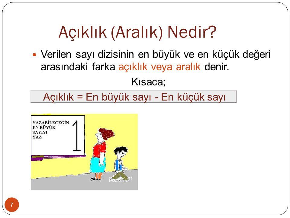 18 4) Yukarıdaki çizgi grafiği Mehmet'in haftanın bazı günlerinde çözdüğü soru sayılarını göstermektedir.