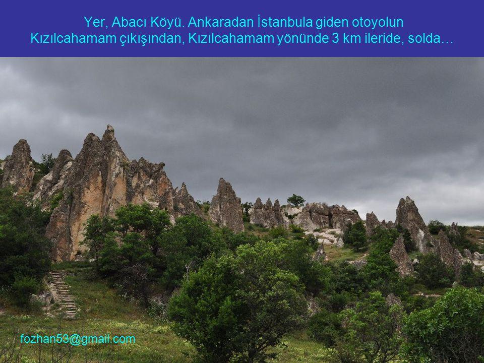 Yer, Abacı Köyü.