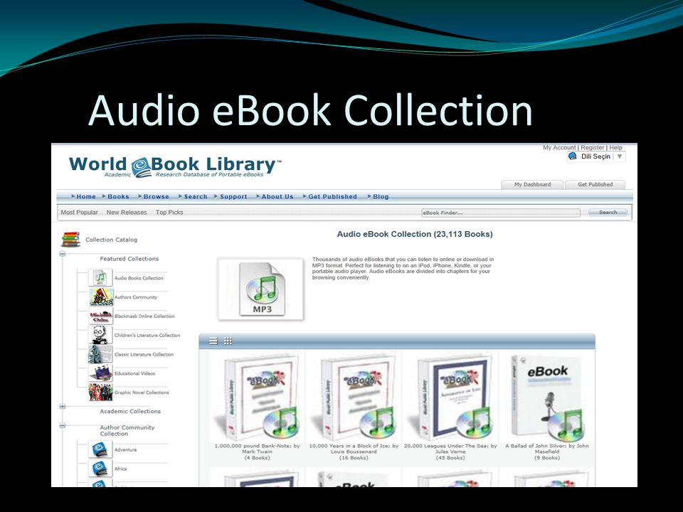 Audio eBook Collection