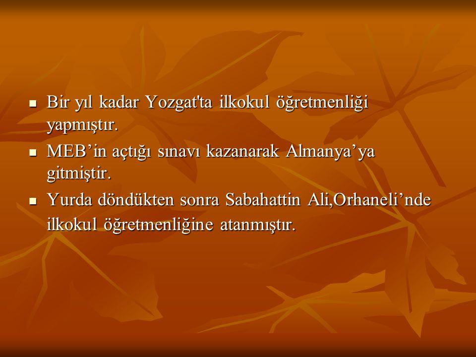 Konya'dayken Atatürk'ü yeren bir şiir yazdığı iddiasıyla tutuklanmıştır.