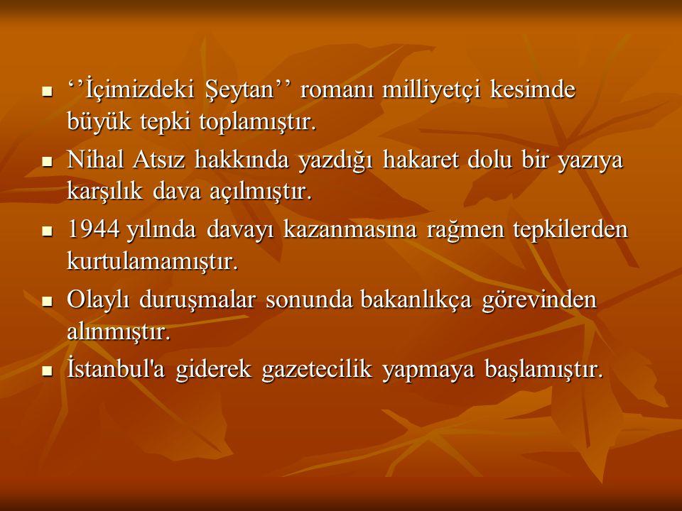 Aziz Nesin ve Rıfat Ilgaz'la Marko Paşa, Malum Paşa, Merhum Paşa, Öküz Paşa gibi siyasal mizah dergilerini çıkarmıştır.