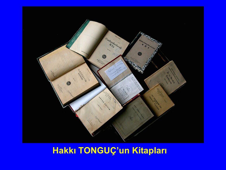Hakkı TONGUÇ'un Kitapları