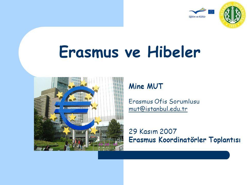 Erasmus Personel Hareketliliği EÜB sahibi yükseköğretim kurumlarında çalışan öğretim elemanlarının farklı bir EÜB sahibi bir Yükseköğretim Kurumunda ders vermesine imkan sağlayan bir faaliyettir.