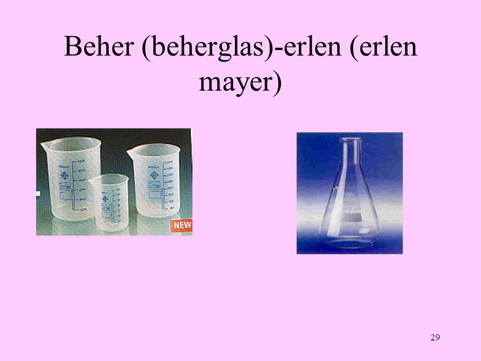 29 Beher (beherglas)-erlen (erlen mayer)