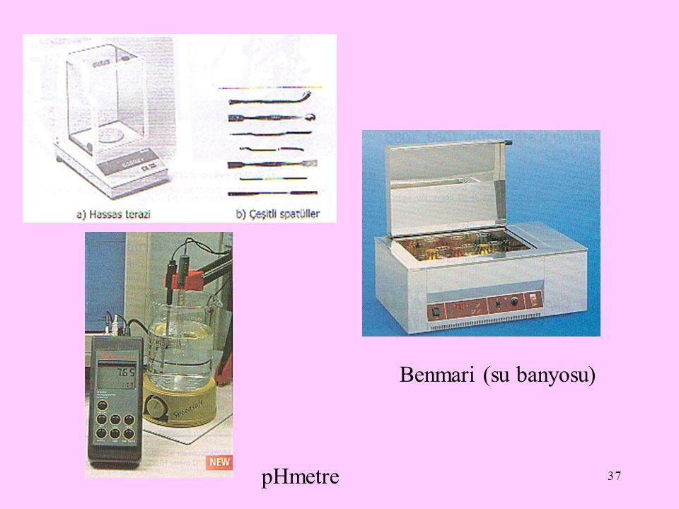 37 Benmari (su banyosu) pHmetre