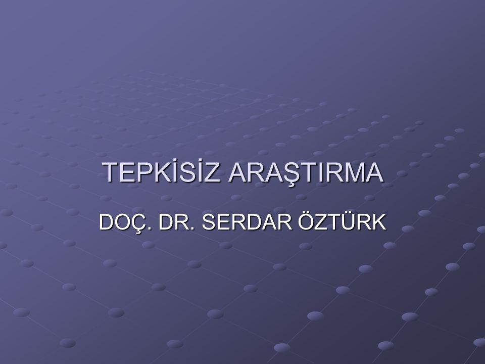 Nasıl Yürütülür.Soru belirlenir. Örneğin Türk dizilerinde aile temsili nasıldır.