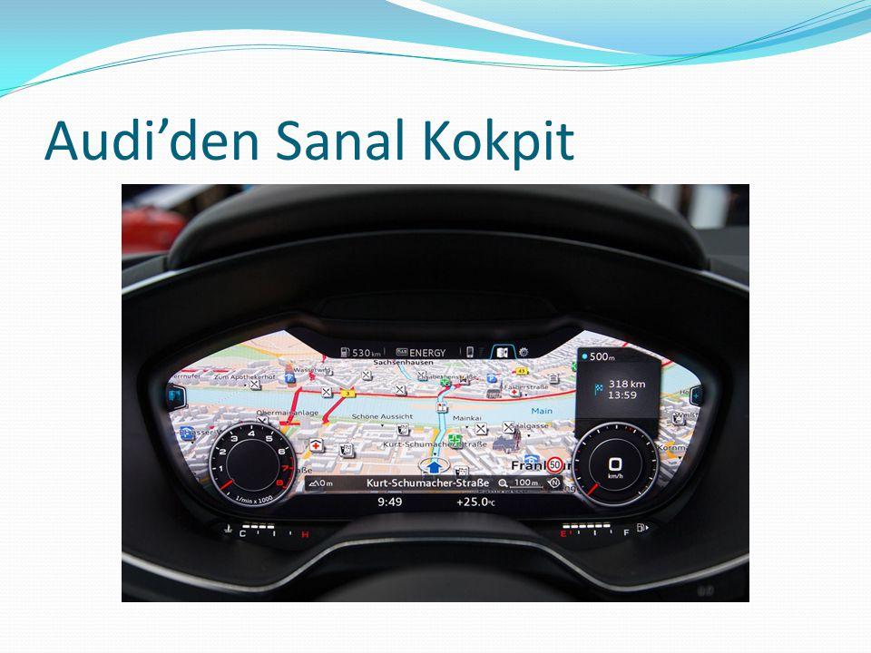 Audi'den Sanal Kokpit