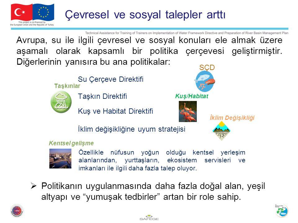 Avrupa, su ile ilgili çevresel ve sosyal konuları ele almak üzere aşamalı olarak kapsamlı bir politika çerçevesi geliştirmiştir.