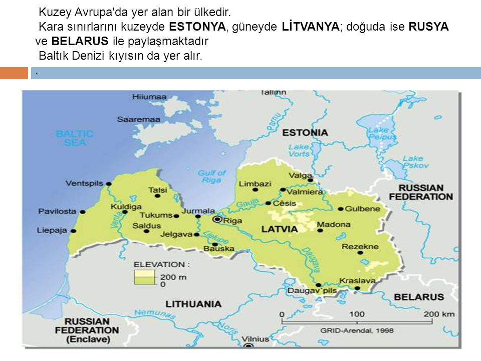 Kuzey Avrupa da yer alan bir ülkedir.