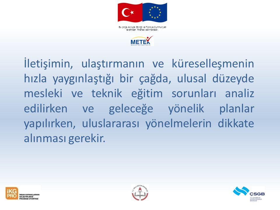 Bu proje Avrupa Birliği ve Türkiye Cumhuriyeti tarafından finanse edilmektedir. İletişimin, ulaştırmanın ve küreselleşmenin hızla yaygınlaştığı bir ça