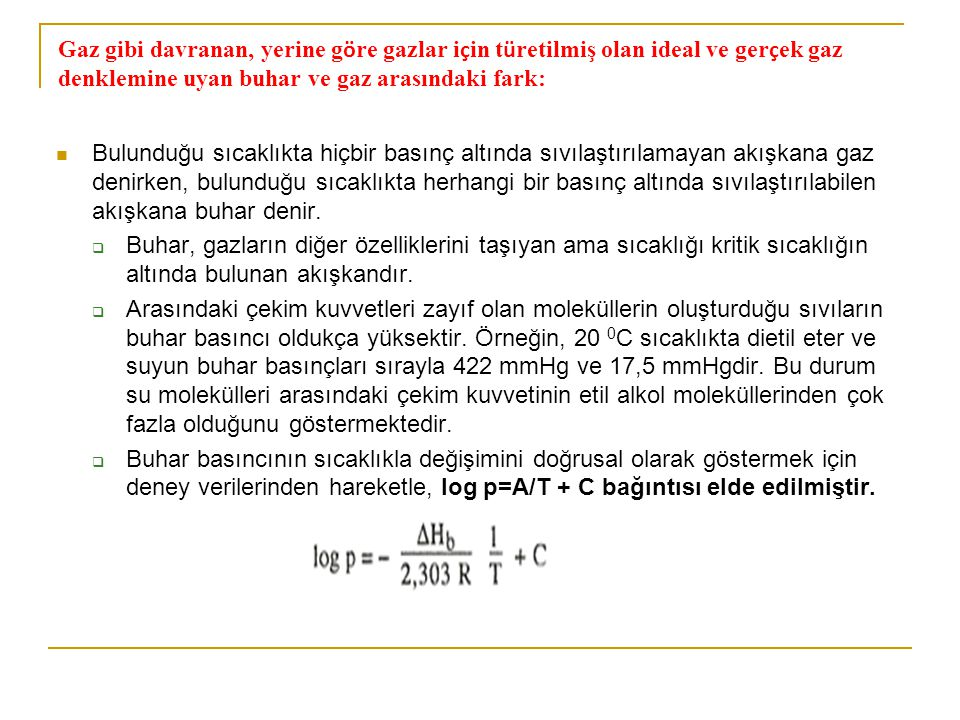Apolar sıvılar içn geçerli olan bu kural özellikle hidrojen bağının oluşturduğu sıvılar için geçerli değildir.