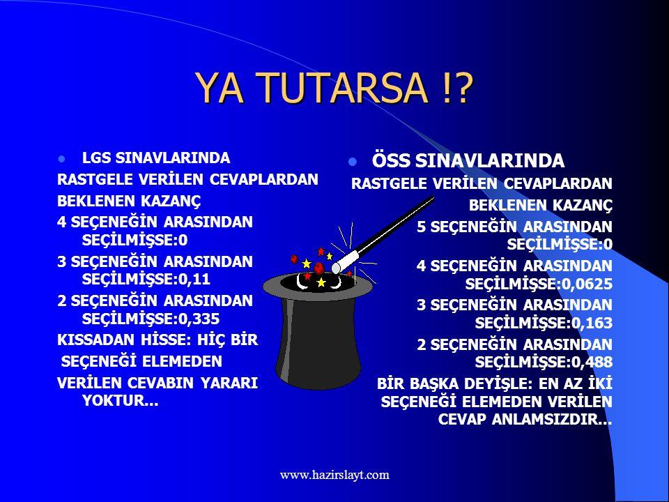 www.hazirslayt.com ŞANSIMI DENEYEYİM...