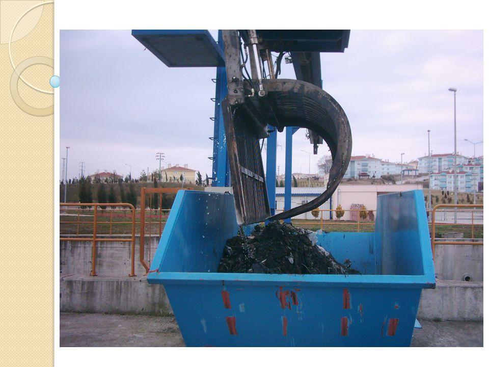 Izgara çubukları arasındaki hız; ◦ Ortalama su hızı : 0.75 m/s, ◦ Maksimum su hızı 1.25 m/s Daha büyük hızlar, çöpleri sürükleyeceği için istenmemektedir.