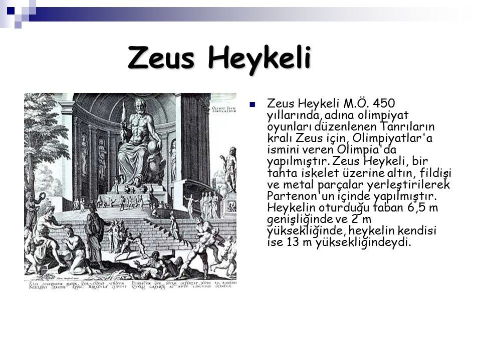 Zeus Heykeli Zeus Heykeli M.Ö.