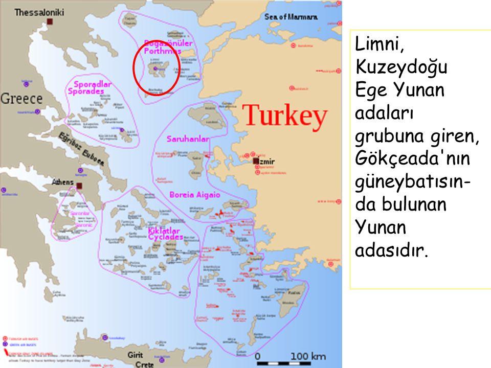 Limni, Kuzeydoğu Ege Yunan adaları grubuna giren, Gökçeada'nın güneybatısın- da bulunan Yunan adasıdır.