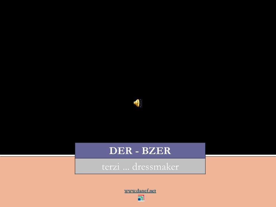 www.danef.net DER - BZER terzi... dressmaker