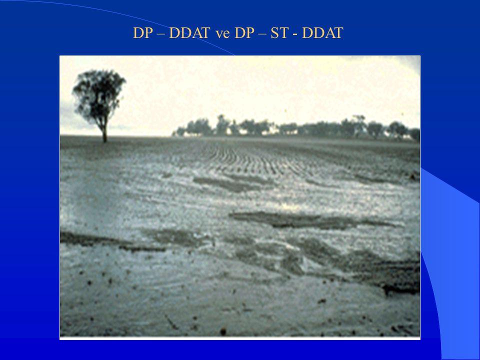 DP – DDAT ve DP – ST - DDAT