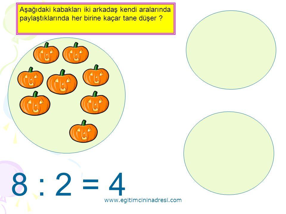 www.egitimcininadresi.com 12 3 12 4 00 12 adet saati 3 aile arasında paylaştırırsak her aileye kaç adet saat düşer ?