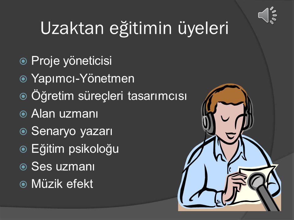  Ders radyodan anlatılır.  Her yerden sadece dinleyebilirler.  Öğrencilerin pasifliği  Dil öğretimi.