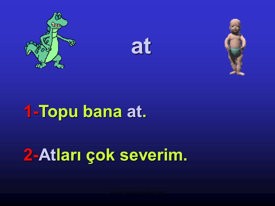 www.ramazansakin.com kır 1-Kalemim 1-Kalemim kırıldı. 2-Kırlarda 2-Kırlarda dolaşmayı severim.