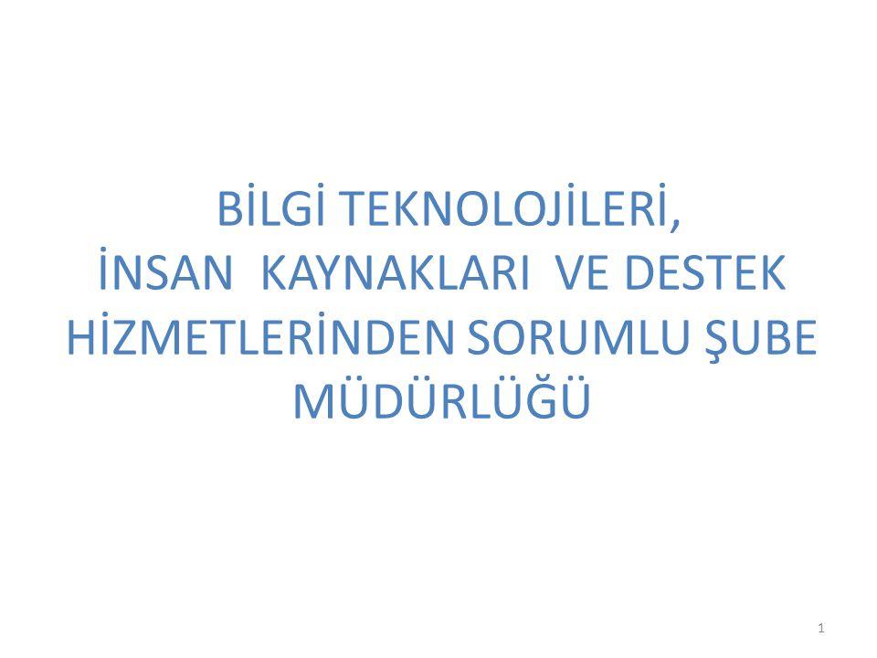 Personel Durumumuz Müdür V.Hasan BEBEK Müdür Yrd.