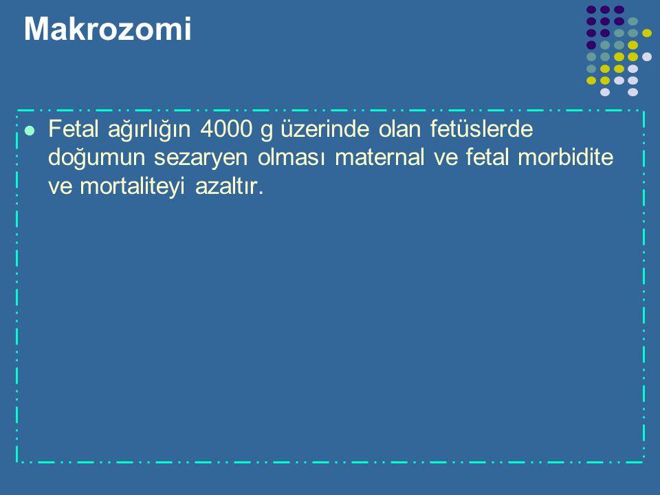 Oligohidramnios Erken oligohidramnioz(5-9. haftalarda). Bu durumda abortus riski fazladır