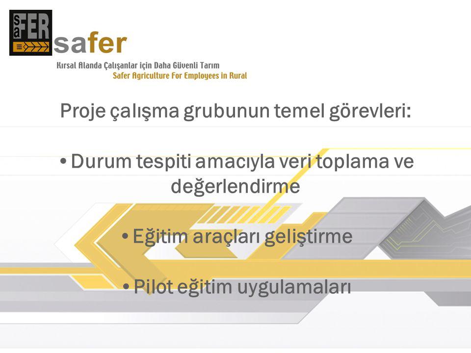 Proje web sayfası http://safer.omu.edu.tr http://safer.omu.edu.tr Güvenlik çalıştayı Tarımda Güvenlik Konferansı
