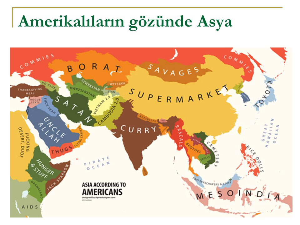 Amerikalıların gözünde Asya