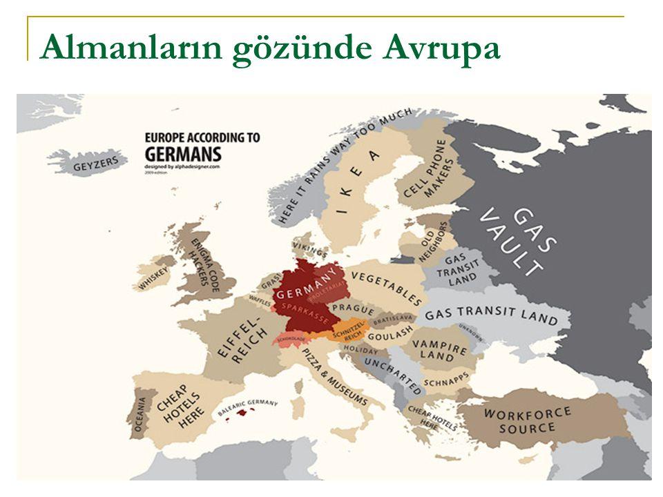 Almanların gözünde Avrupa