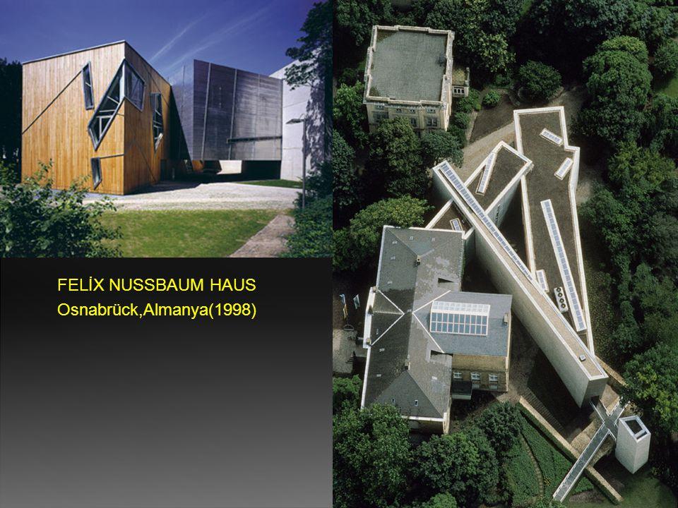 FELİX NUSSBAUM HAUS Osnabrück,Almanya(1998)