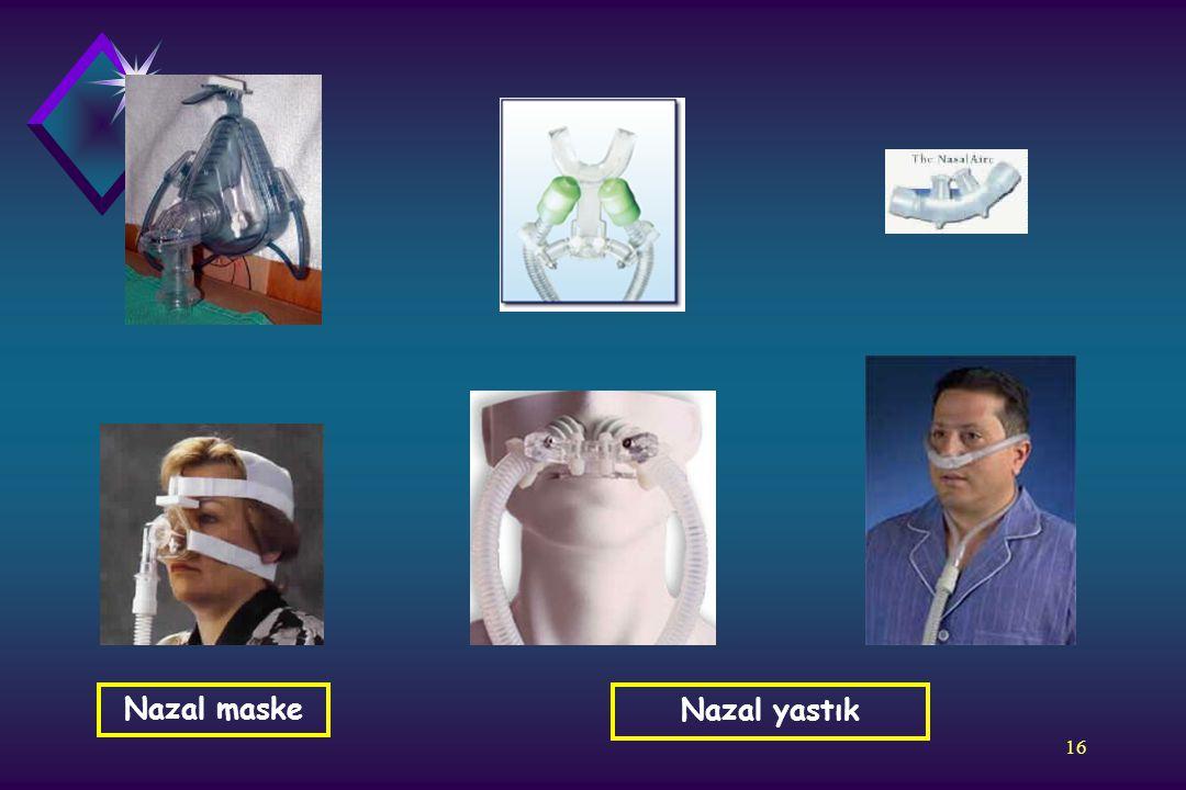 16 Nazal yastık Nazal maske