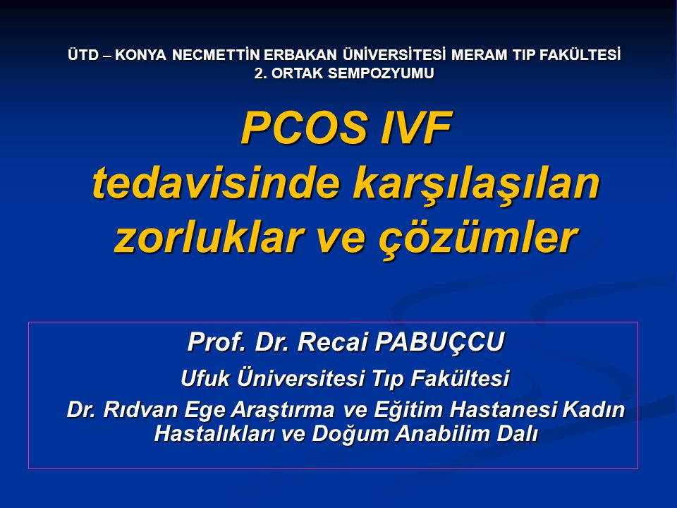 PCOS- IVF