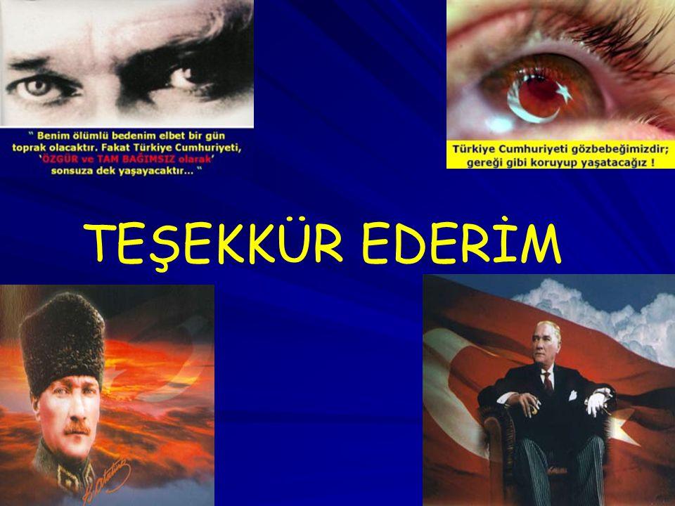 2525 TEŞEKKÜR EDERİM