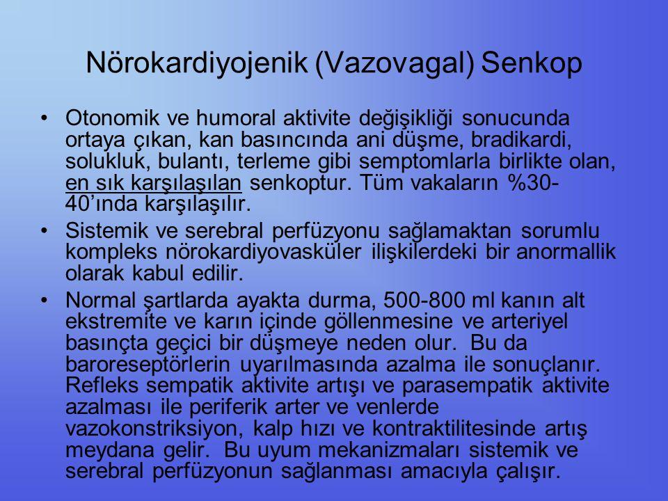 Durumsal Senkop Vazovagal senkop başlığı altında incelenebilirler.