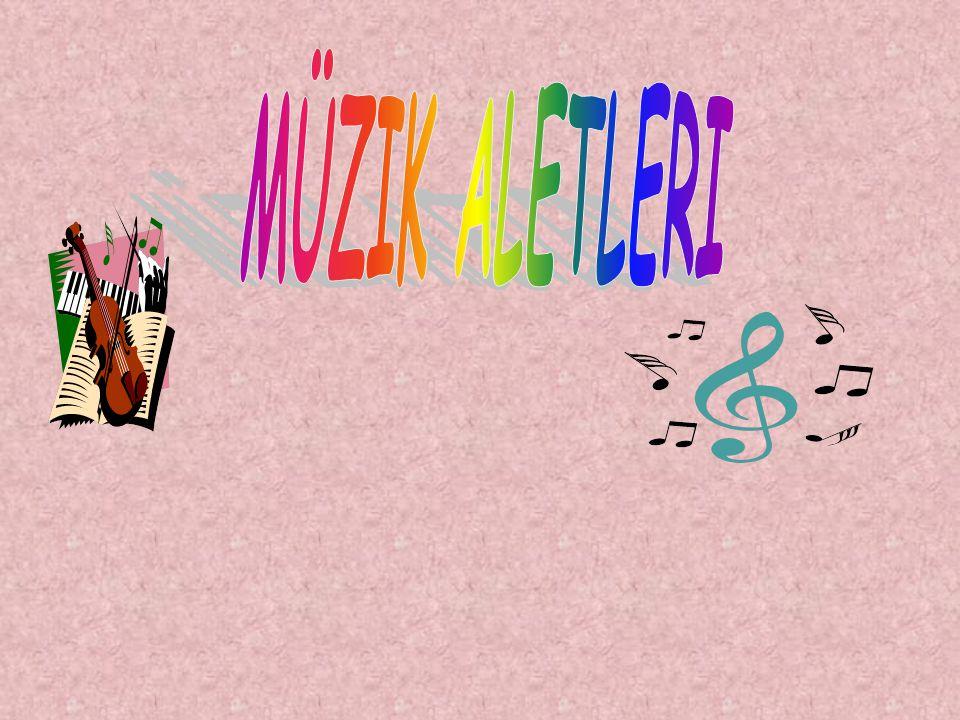 HEDEFLER Müzik aletlerinin tanınması Temel müzik öğretimi sırasında bu bilgilerden yararlanılması