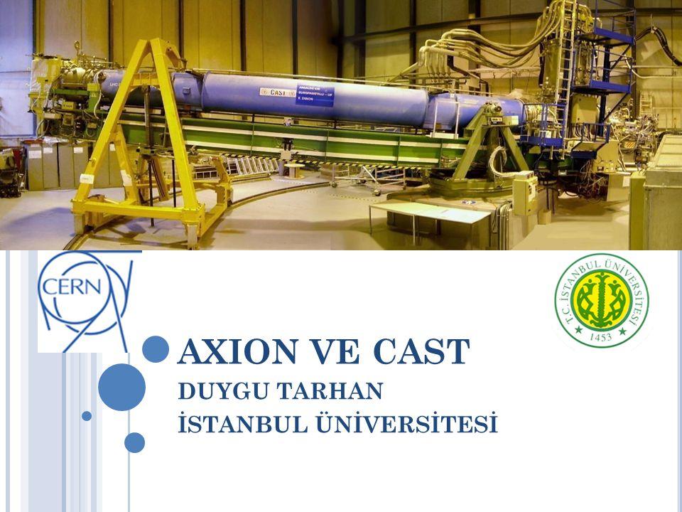 AXION VE CAST DUYGU TARHAN İSTANBUL ÜNİVERSİTESİ
