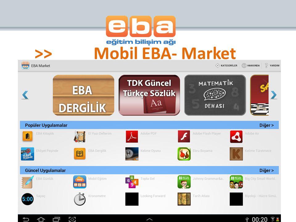 >>Mobil EBA- Market
