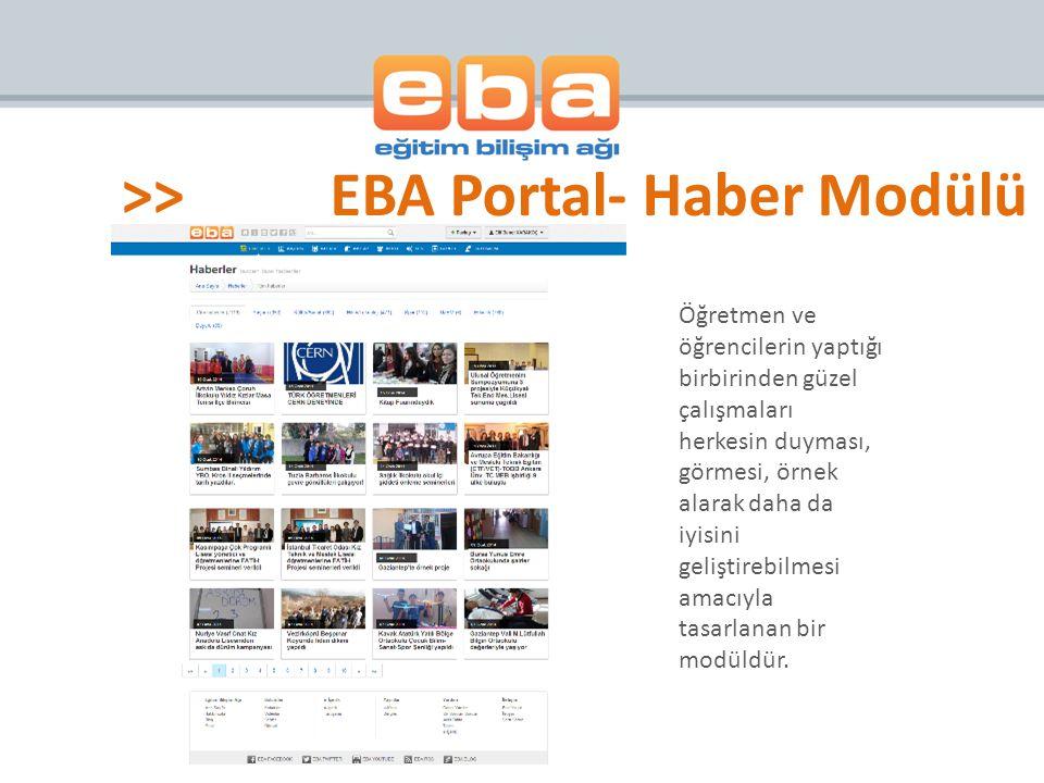 E-Içerik modülü birbirinden bağımsız eğitim portallerini aynı adreste buluşturmak ve okul ağı içerisinde ücretsiz olarak kullanıma sunmak amacıyla tasarlanan bir modüldür.