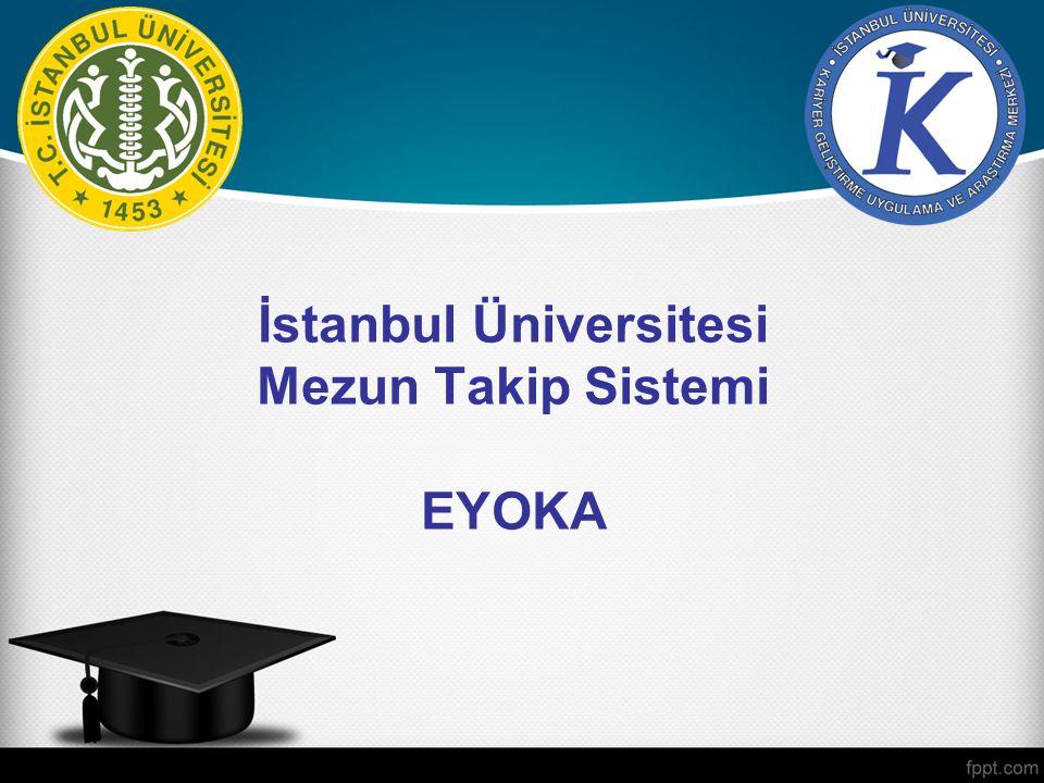 eyoka İçerik Amaç ve Önem Elektronik Ortamda Üniversite İletişim Kanalları Bu sistemle neler yapılabilir.