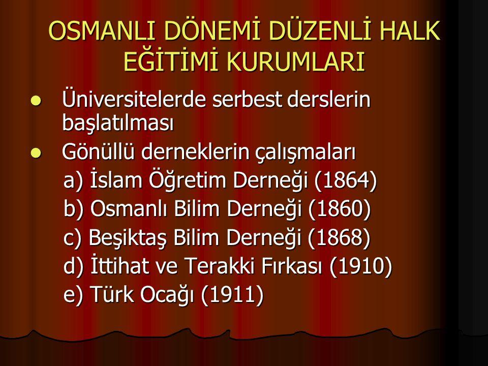 Ethem Nejat'ın Broşürü (1911) Ethem Nejat'ın Broşürü (1911) İsmail Hakkı Baltacıoğlu'nun Konferansı (1914) İsmail Hakkı Baltacıoğlu'nun Konferansı (1914) TBMM Hükümeti İzlencesi (1922) TBMM Hükümeti İzlencesi (1922) Yasalar Yasalar a) İlköğretim Geçici Yasası (1913) a) İlköğretim Geçici Yasası (1913) b) Özel Okullar Yönetmeliği (1913) b) Özel Okullar Yönetmeliği (1913) c) İl Genel Yönetimi Geçici Yasası (1914) c) İl Genel Yönetimi Geçici Yasası (1914)