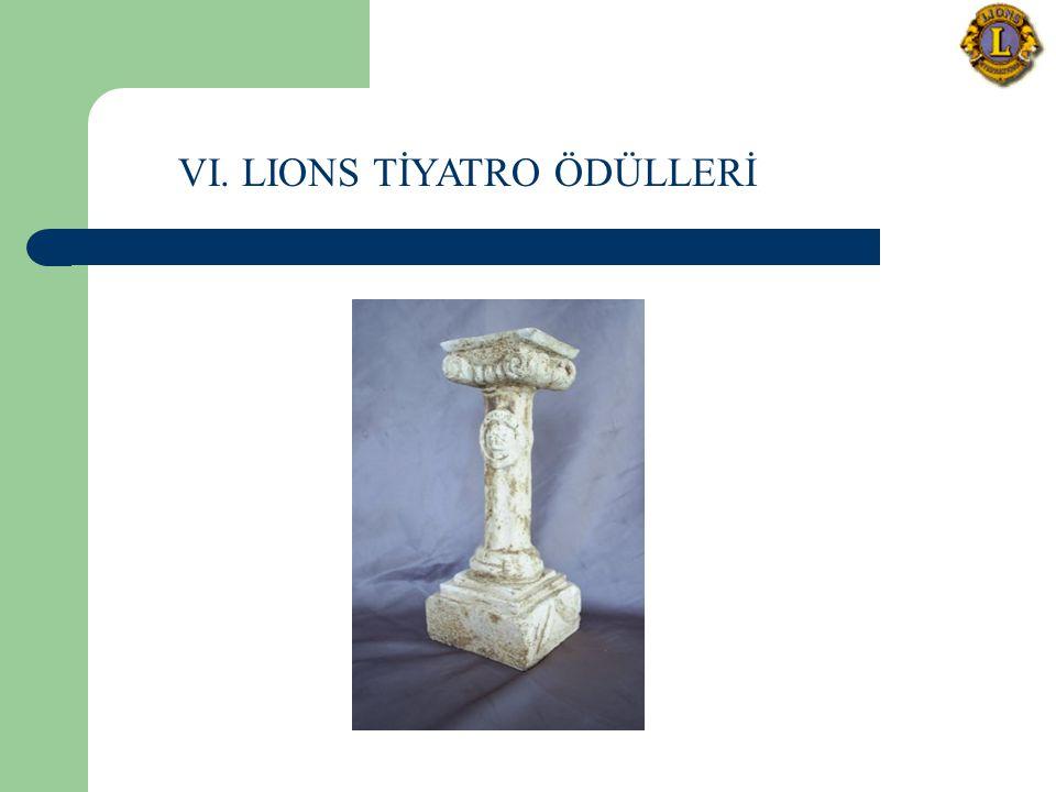 VI. LIONS TİYATRO ÖDÜLLERİ