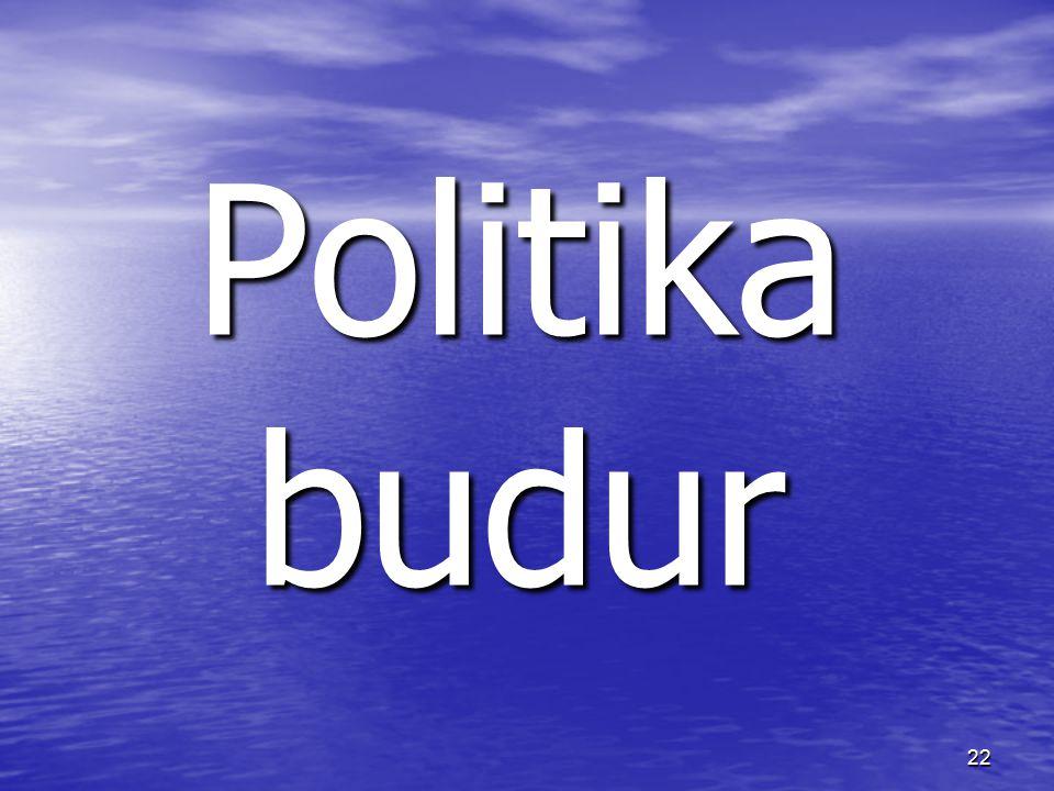 22 Politika budur