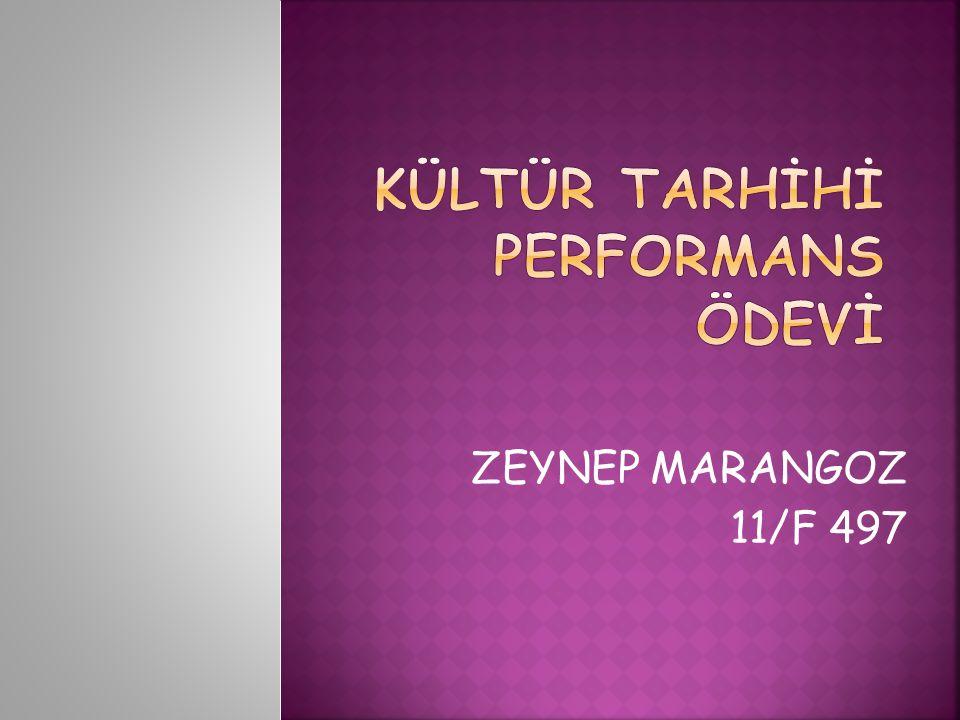 ZEYNEP MARANGOZ 11/F 497