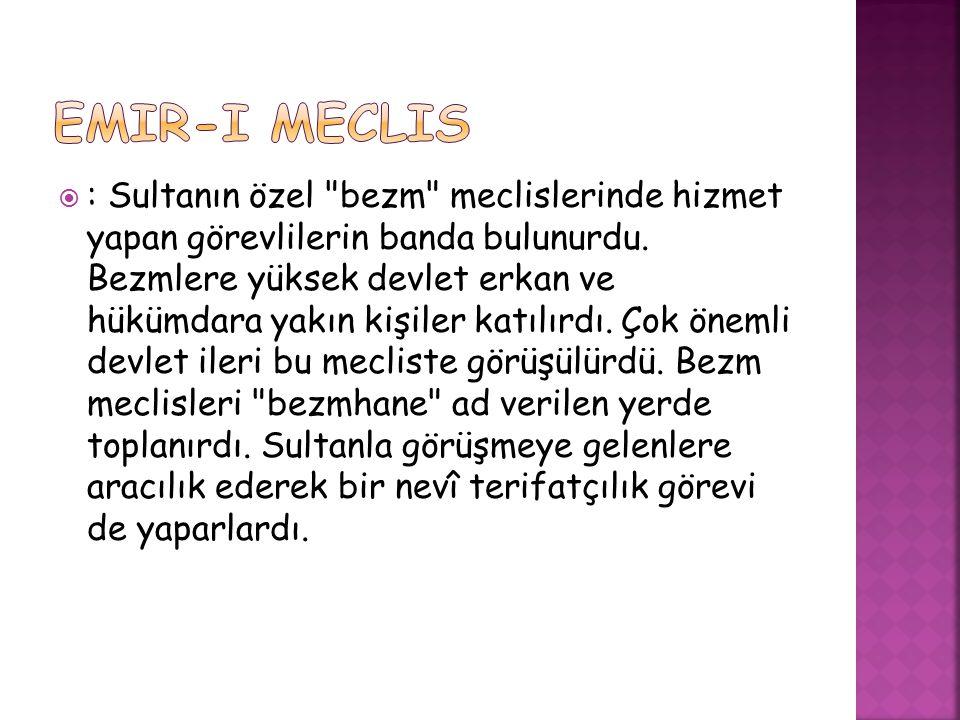  : Sultanın özel
